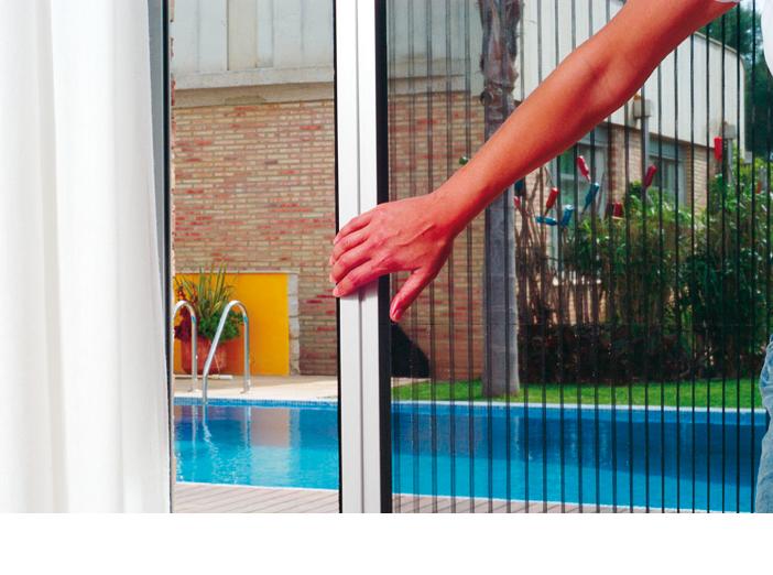 Mosquiteras accesorios atl ntico personalizada for Mosquiteras plisadas para puertas